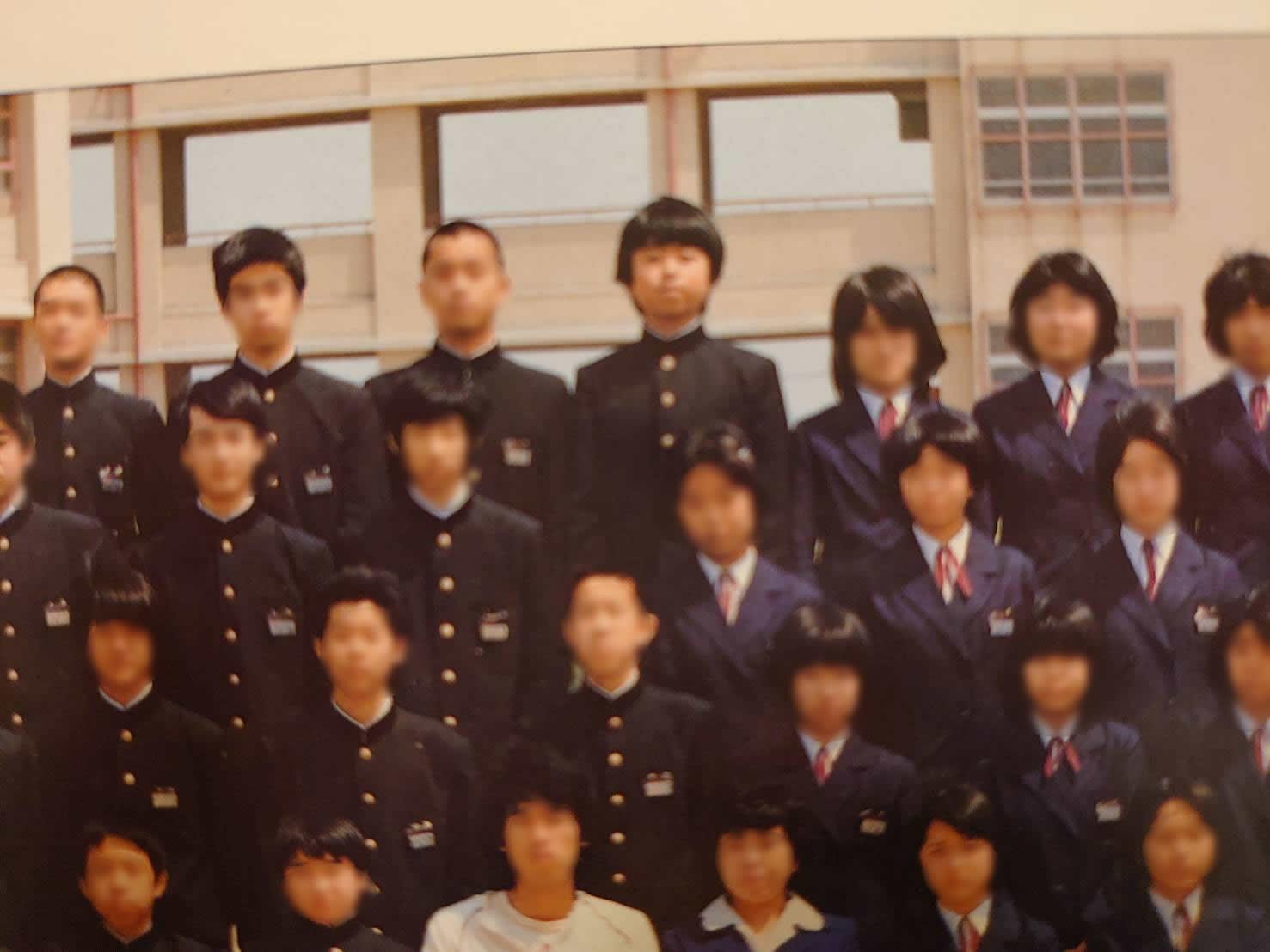 高鷲南中学時代